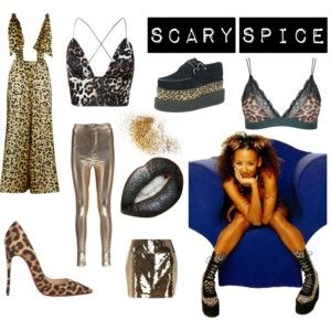 Spice girls costumes, Scary spice
