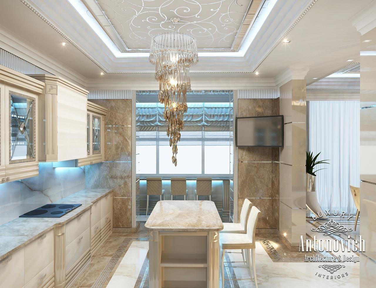 Kitchen Design in Dubai, Cozy Kitchen Luxury Apartment, Photo 1 ...