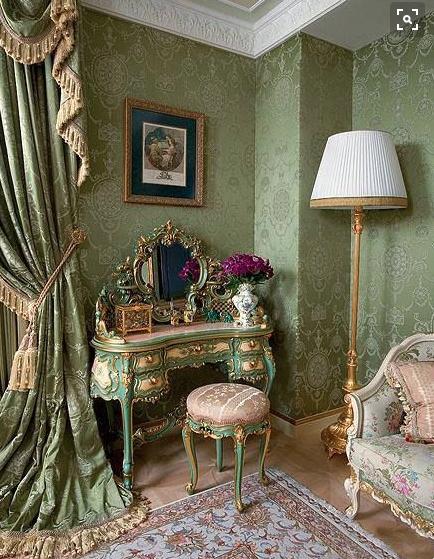 Escuela de decoraci n estilo victoriano color - Escuela decoracion de interiores ...