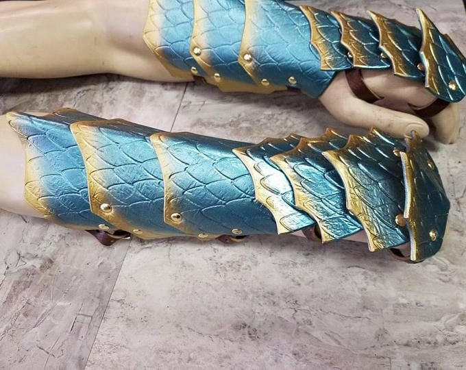 how to make scale mail gauntlets