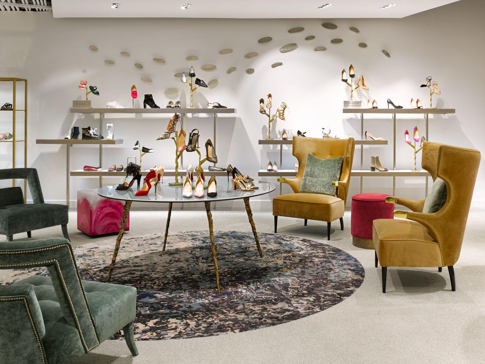 Frch Interiordesign Architecture Saks Saksfifthavenue Luxurybrand Retaildesign Fashion Design Interior Store Design