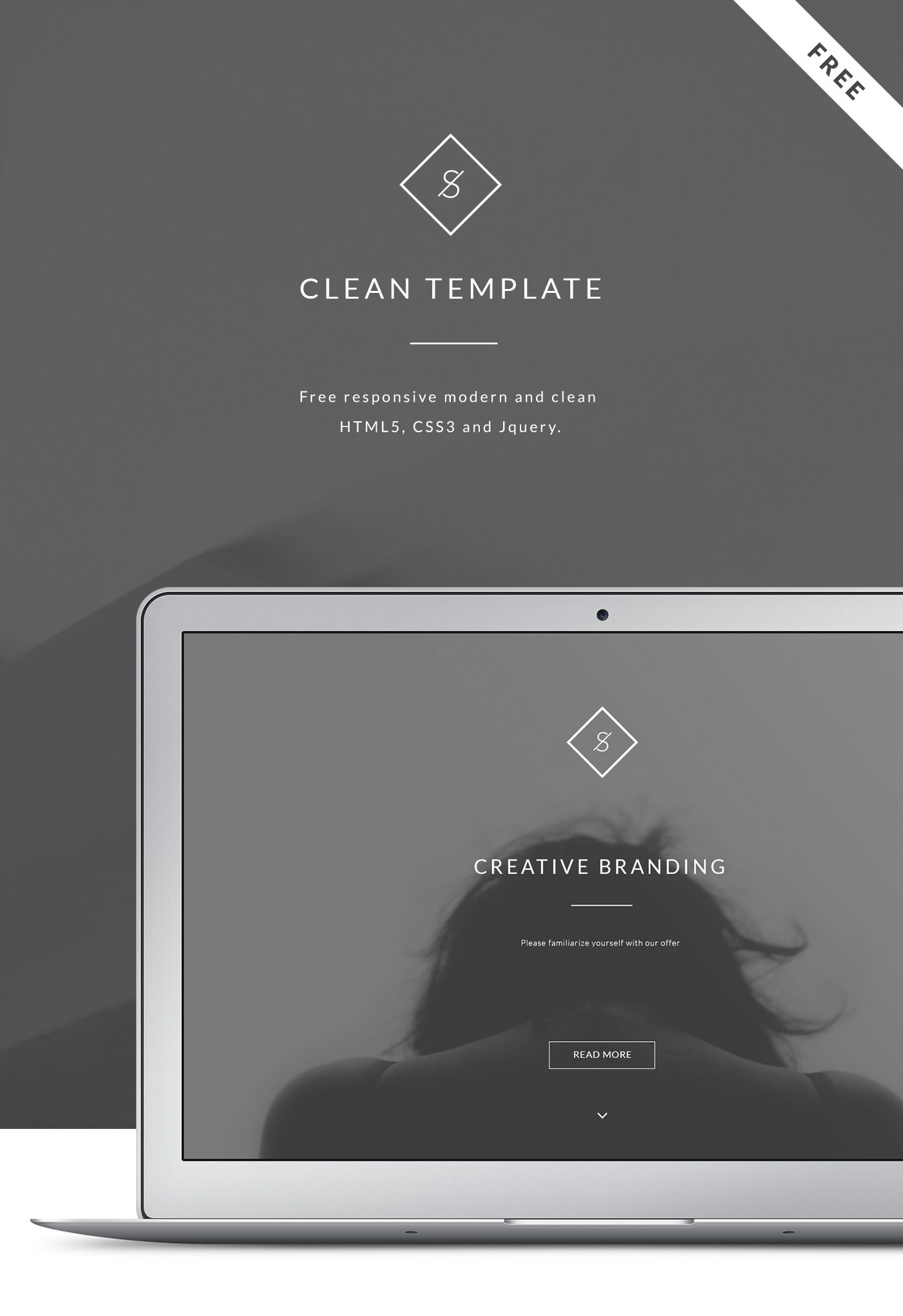Free responsive modern and clean HTML5, CSS3 and Jquery.One Page ...