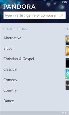 Download Pandora 1 3 0 0 XAP For Windows Phone   XAP Store