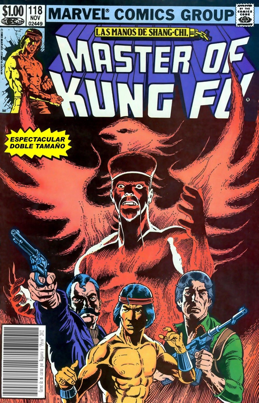 Image result for gene day master of kung fu doug moench