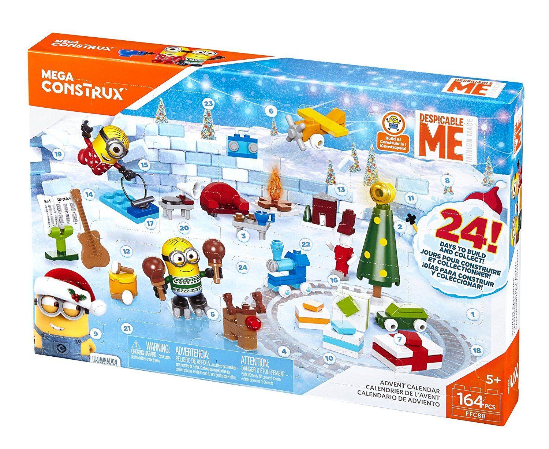 Mega Bloks Advent Calendars Toy Advent Calendar Minion