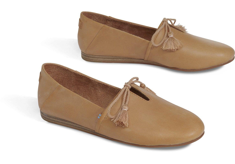 58b2bc095b1 Honey Leather Women s Kelli Flats