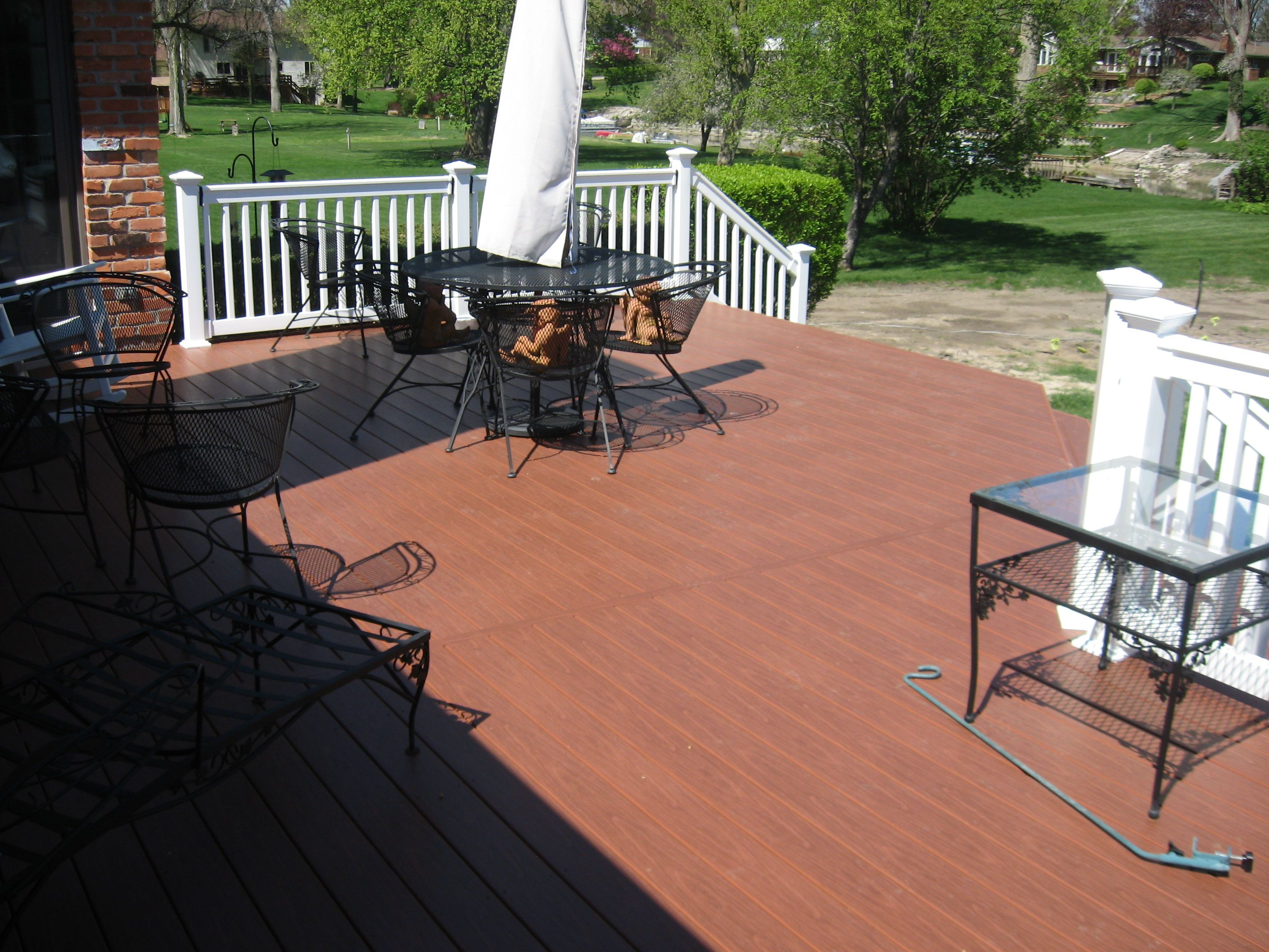 A Gossen Pvc Deck By Creative Wood Products In Michigan