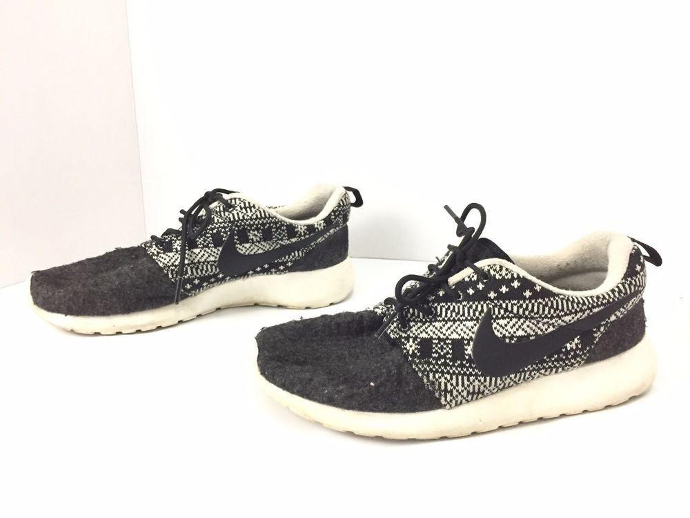 a7556835c060 Nike Roshe Run One Winter Aztec Printed Shoes Black 685286-001 Women s  Sneakers  Nike
