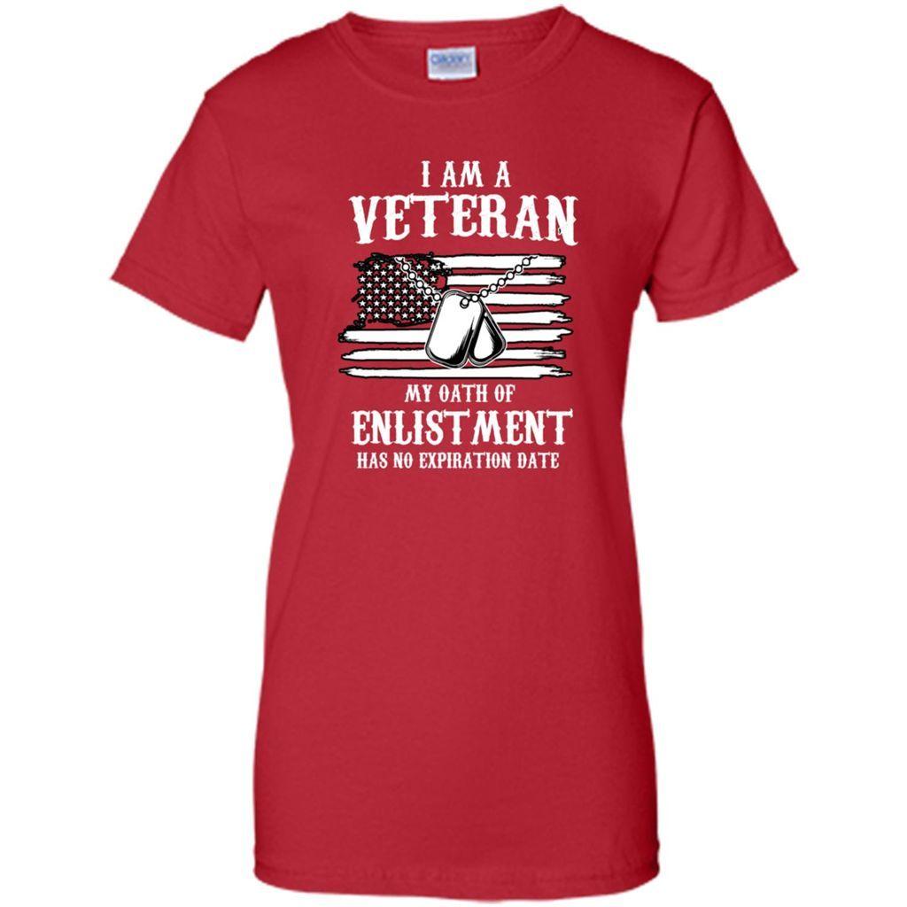 I Am A Veteran My Oath Of Enlistment T Shirt - Women's Premium T-Shirt