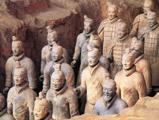 Terracotta Warriors  These guys absolutely fascinate me!