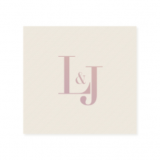 Linen Like Cocktail Napkins | Personalized Napkins | ForYourParty.com