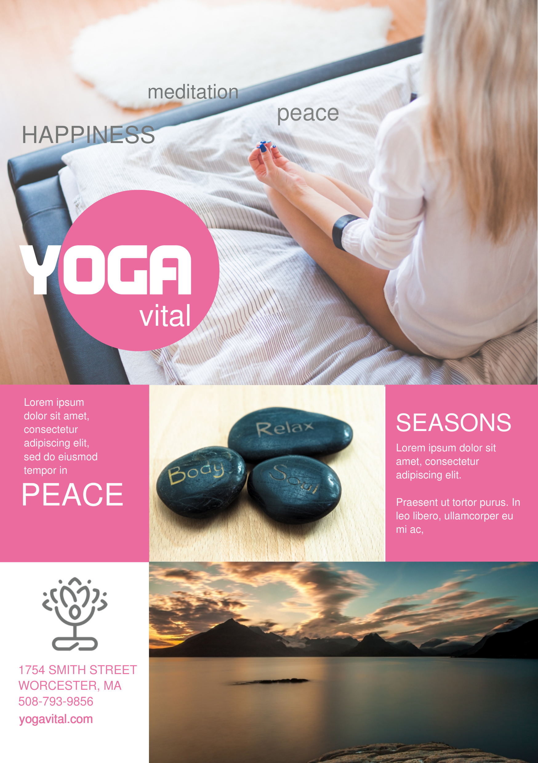 Yoga A Promotional Flyer HttpPremadevideosComAFlyer