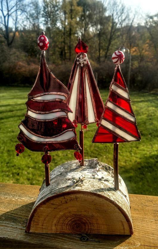 Seuss S Christmas Trees Delphi Artist Gallery In 2020 Stained Glass Christmas Stained Glass Diy Stained Glass Art