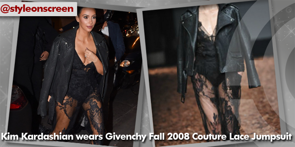 Want to know where Kim Kardashian got her outfit from whilst at Paris Fashion Week? Style on Screen can tell you!