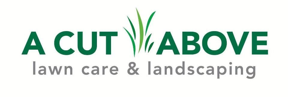 "Logo for ""A Cut Above Lawn Care & Landscaping"