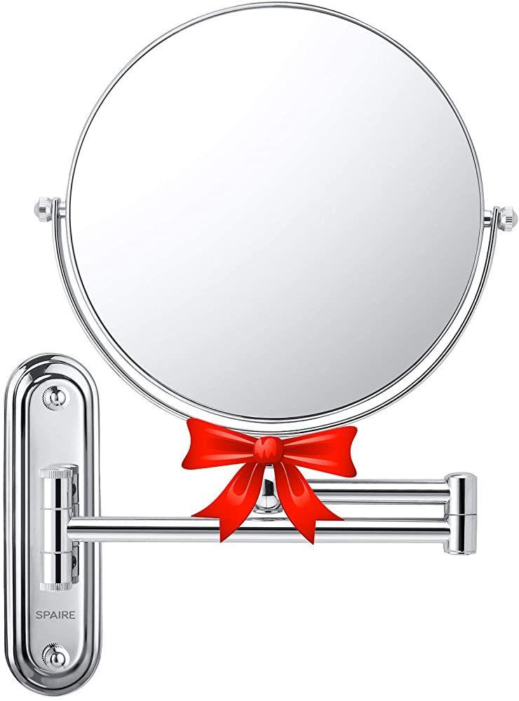 Spaire Badezimmer Spiegel 7x Vergrosserung Normal Doppelseitig 20cm