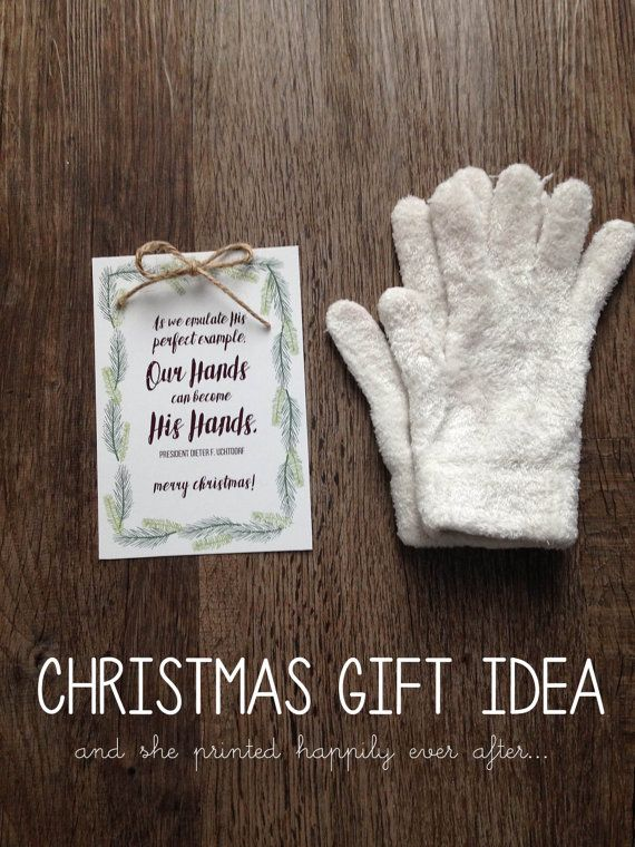 OUR hands can become HIS hands | Christmas gifts | Pinterest ...
