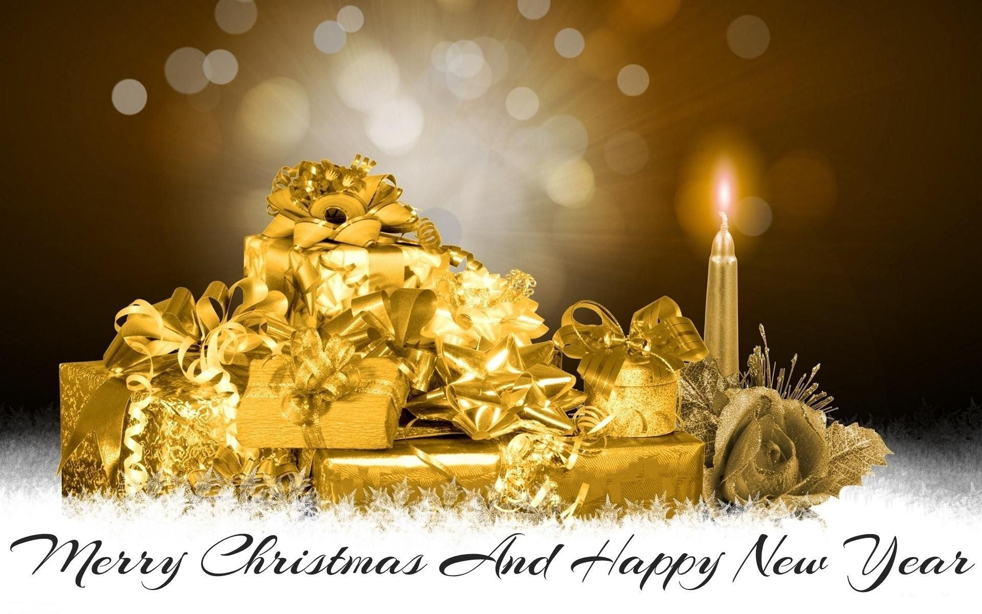 Image For Merry Christmas 2014 And Happy New Year 2015 Wallpaper Download Background