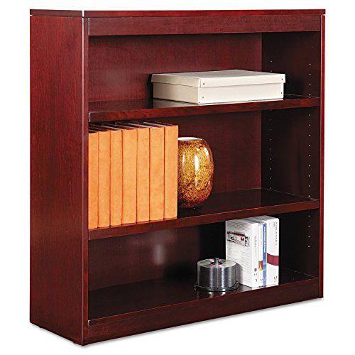 Office Corner Shelf. Contemporary Corner Mahogany Finish Home Office Corner  Shelf Alera Square Bookcase Finished
