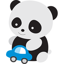 Panda Baby Playtime Emoticon Cute Panda Cartoon Funny Emoticons Cute Panda