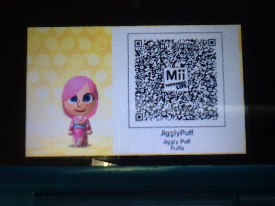 Daisy Mii Qr Code Tomodachi Life: Made A JigglyPuff Mii For Tomodachi Life!