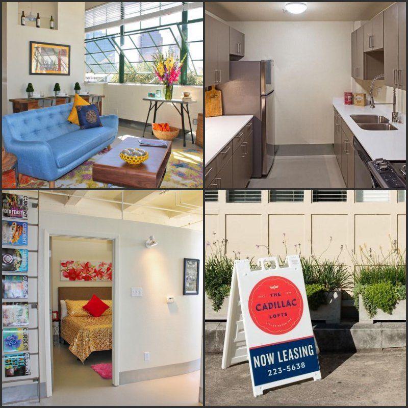 Studio, one bedroom & two bedroom lofts for rent in