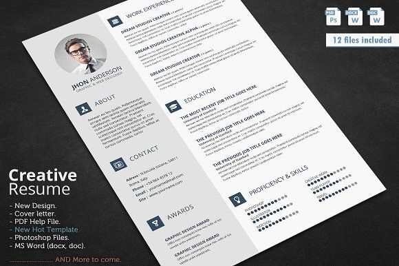 This is a very easy to edit u201cresumeu201d and cover templates for MS - resume deal