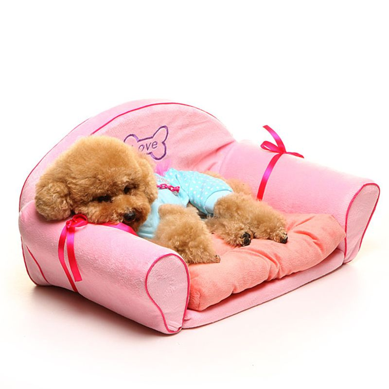 Luxury Pet Dog Cat Bed Sofa House Puppy Small Beds Comfortable Warm For Dogs