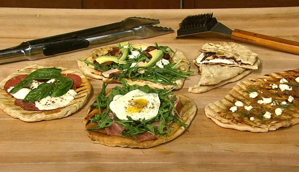 the chew Personalized Grilled Pizza ~ Use GF Pizza Dough
