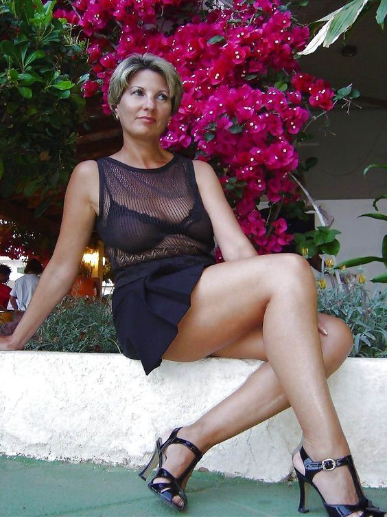 Mature wife legs