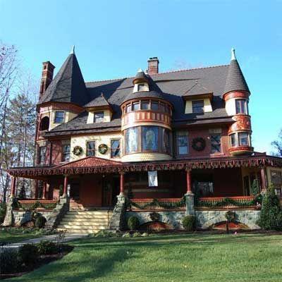 Best Old House Neighborhoods 2012 The Northeast Victorian Homes Victorian Style Homes Victorian Architecture