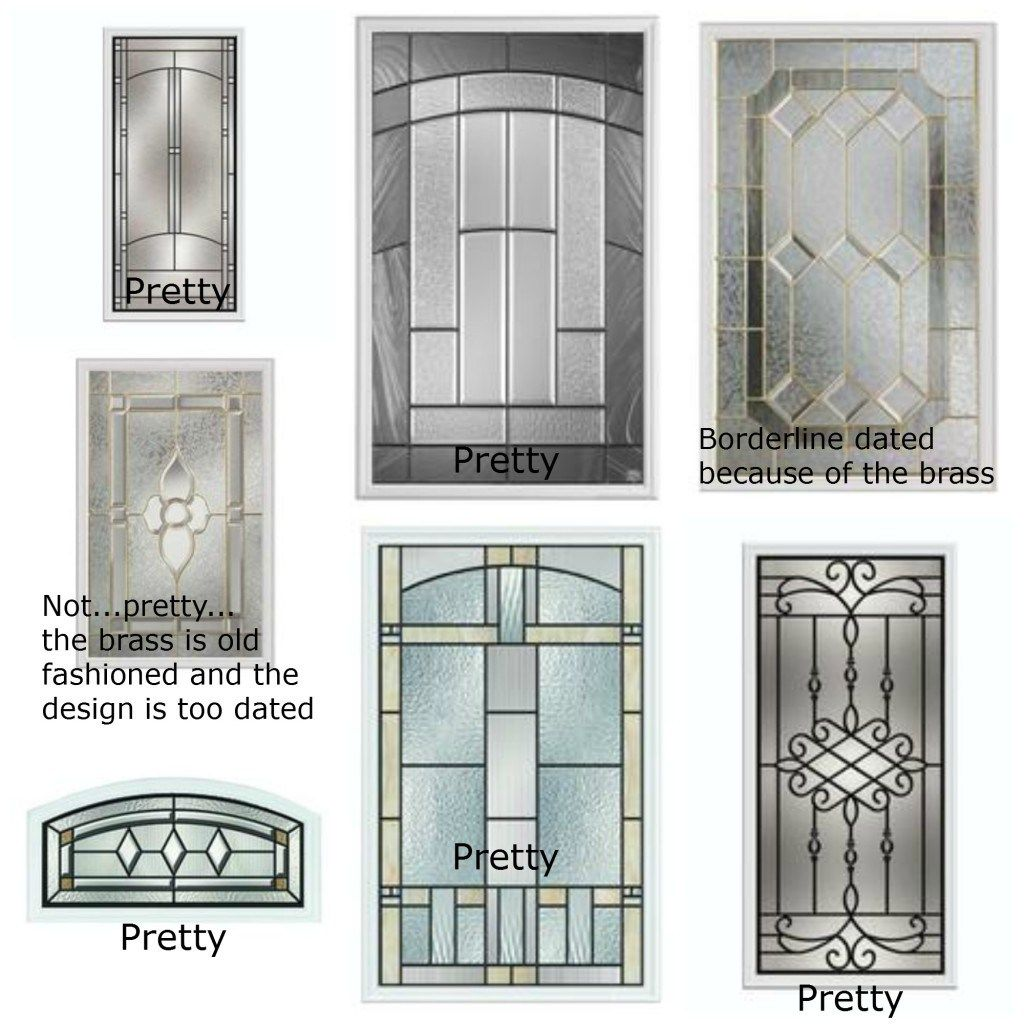 2 Budget Friendly Decorating Solutions Ideas Door Glass Inserts Exterior Doors With Glass Exterior Door Window But again… all those rectangles would just be too much. door glass inserts