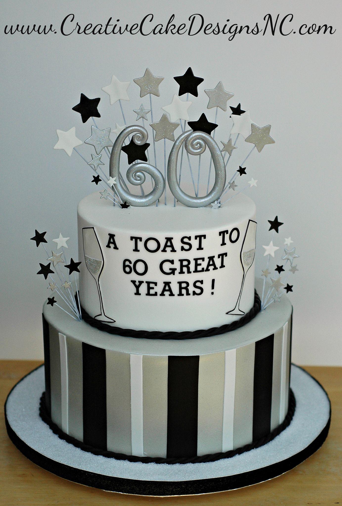 60th Birthday Party 60th Birthday Cakes Dad Birthday Cakes