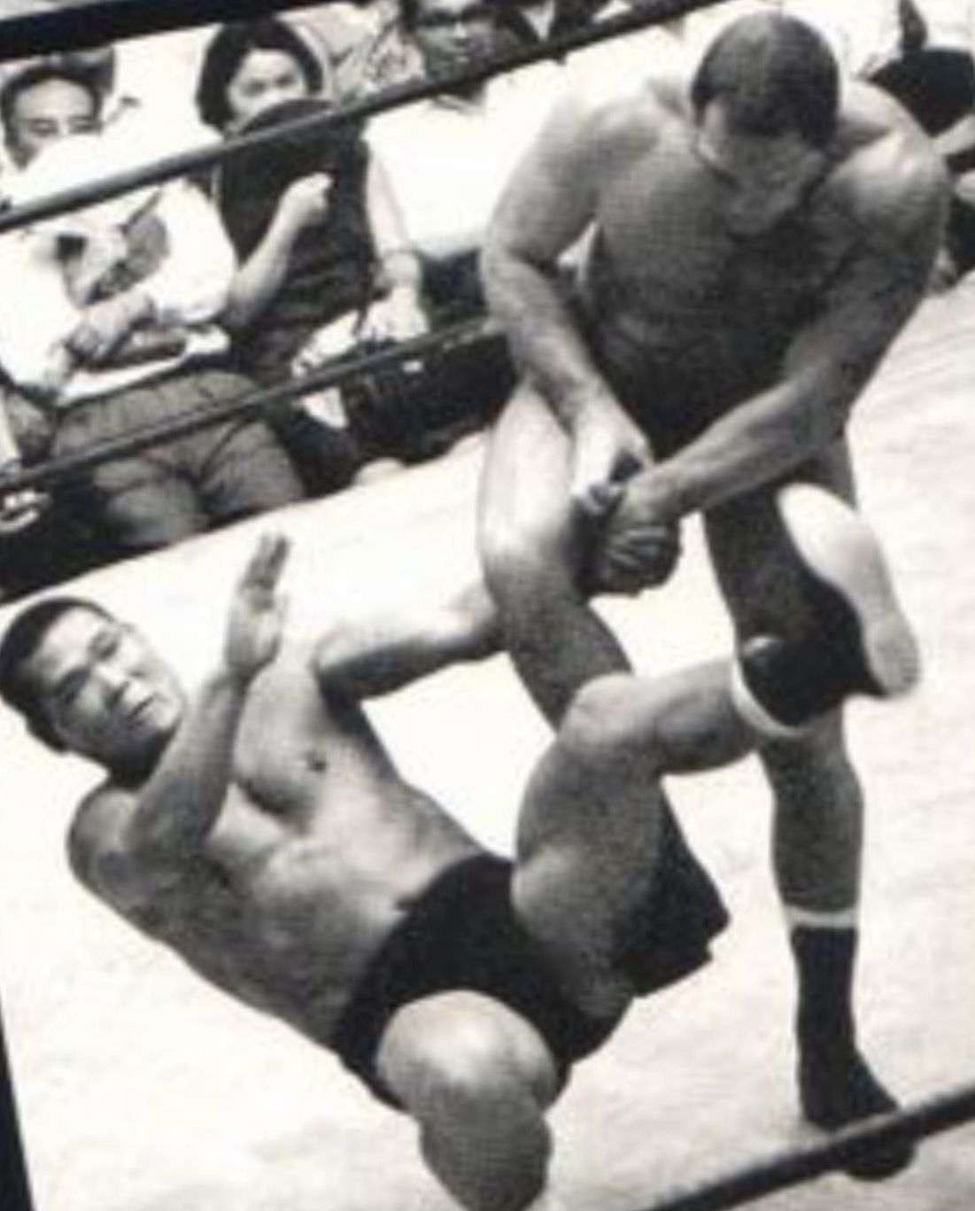 Karl Gotch vs Michiaki Yoshimura, Japan, 1966