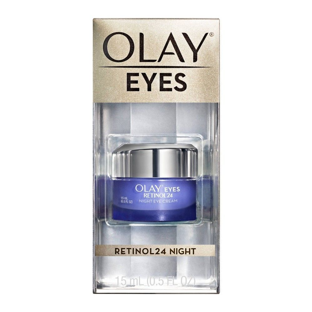 Olay Eyes Retinol24 Night Eye Cream 0 5oz Antiagingsecrets In 2020 Olay Eye Cream Olay Regenerist