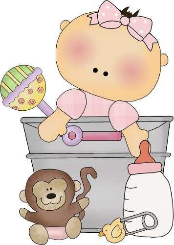 Kit Imprimible Bebe Niña Bautizo Y Baby Shower Invitaciones - en MercadoLibre