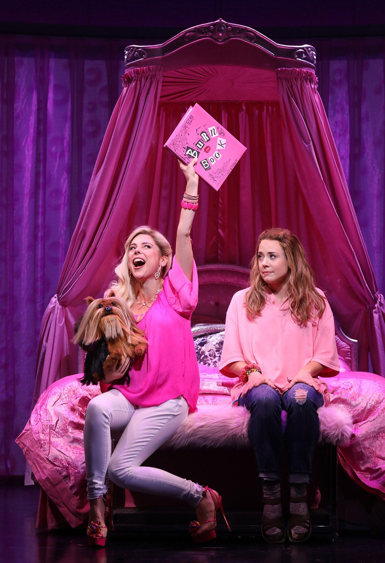 The New Mean Girls Musical Shows A Regina George We Haven T Seen Before Mean Girls Mean Girls Movie Broadway Costumes