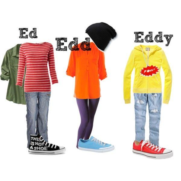 Ed, Edd, n Eddy, created by moshly90 on Polyvore Moe ...