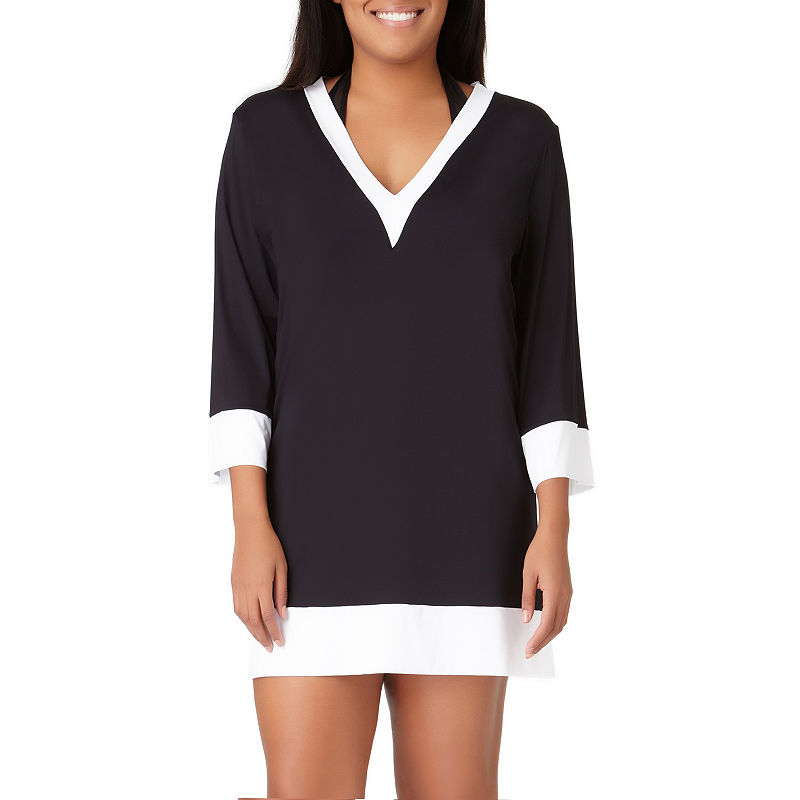 8eae01ba87 Liz Claiborne Knit Swimsuit Cover-Up Dress | Products | Knitted ...