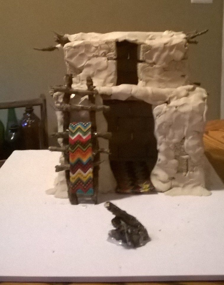 Fabulous My Daughters Native American Shelter Project Hopi Adobe Interior Design Ideas Inesswwsoteloinfo