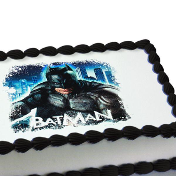 Batman The Dark Knight Edible Image Cake Decoration Party Fun - Dark knight birthday cake