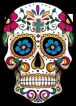 Latino Drawing Dia De Los Muertos Clipart Free Download Coloring Book Art Skull Wallpaper Sugar Skull Artwork