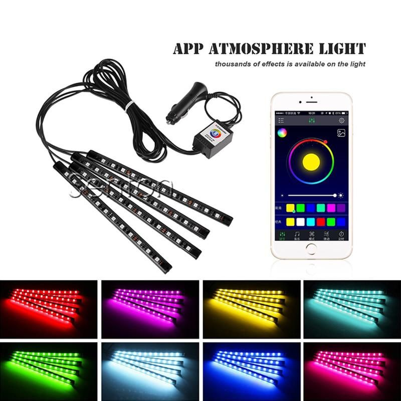 Car Interior Atmosphere Lamp For APP Control For Chevrolet