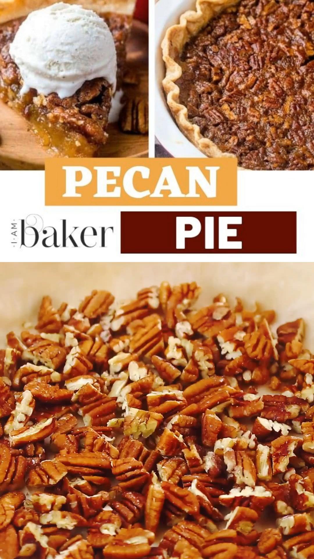Pecan Pie Recipe #pecanpierecipe