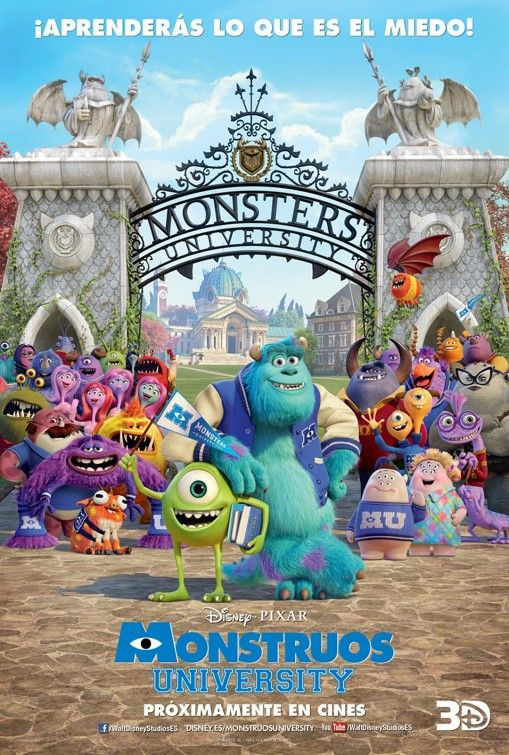 Risultati immagini per monster university movie