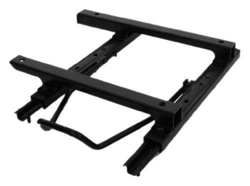 Bestop 5124501 Black Seat Slider Adapter For 0306 Wrangler Tj