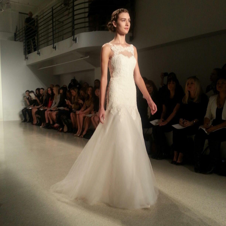 Ny Times Weddings: Christos Wedding Dress, Fall 2014 Collection. Photo