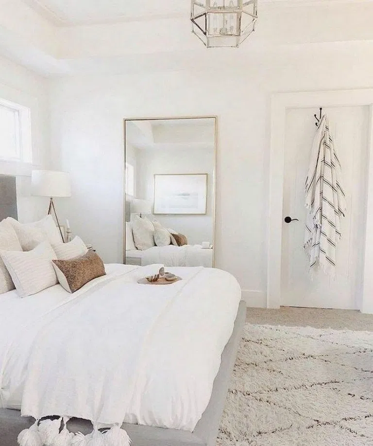 30 Gorgeous Bedrooms That You Can Totally Recreate At Home 5#bedrooms #gorgeous #home #recreate #totally