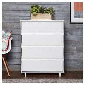 Best Modern 4 Drawer Dresser White Room Essentials Target 640 x 480