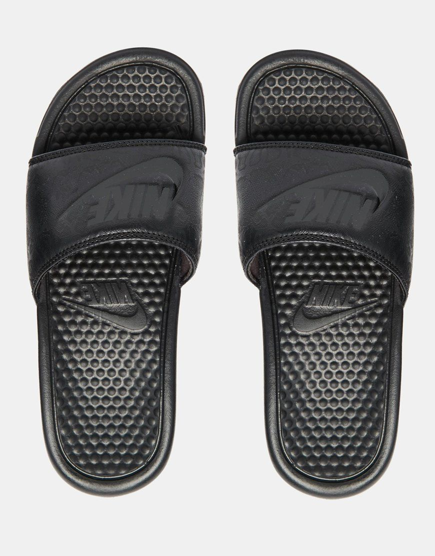 937680a3120867 Nike Benassi Just Do It blackblackblack - sommerprogramme.de